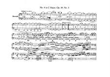 String Quartet No.9 in C Major, Op.59 No.3: versão para piano de quatro mãos by Ludwig van Beethoven