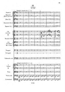 Concerto for Cello and Orchestra in B Minor, B.191 Op.104: movimento III by Antonín Dvořák