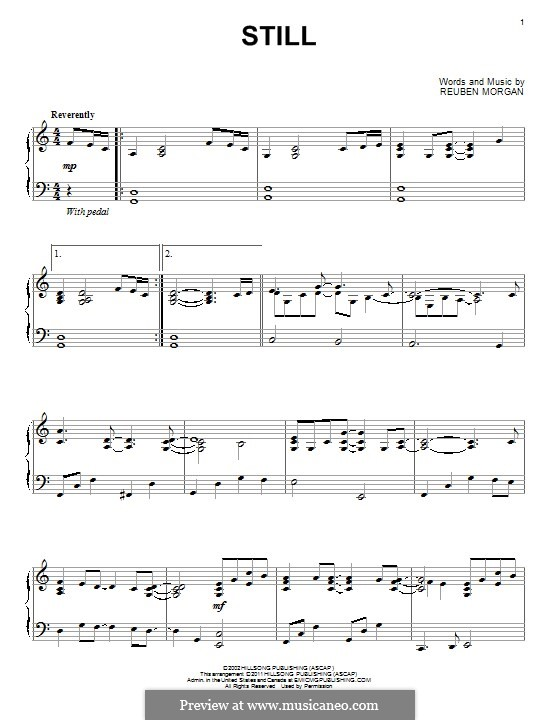 Still: Para Piano by Reuben Morgan