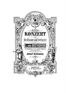 Complete Concerto: Versão para dois pianos de quatro mãos by Ludwig van Beethoven