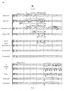 Symphony No.6 in D Major, B.112 Op.60: movimento II by Antonín Dvořák
