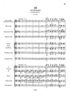 Symphony No.6 in D Major, B.112 Op.60: movimento III by Antonín Dvořák