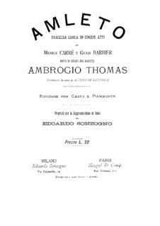 Amleto: Amleto by Ambroise Thomas