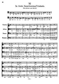 In Festo Sanctissimae Trinitatis. O Lux beata Trinitas: In Festo Sanctissimae Trinitatis. O Lux beata Trinitas by Tomás Luis de Victoria