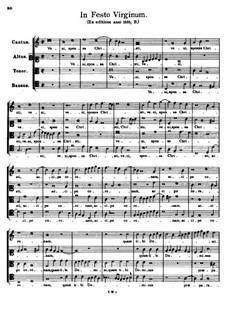 In Festo Virginum. Veni sponsa Christi: In Festo Virginum. Veni sponsa Christi by Tomás Luis de Victoria