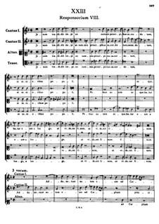Jesum tradidit impius: Jesum tradidit impius by Tomás Luis de Victoria
