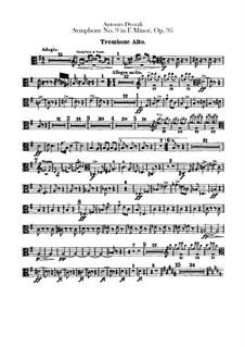 Complete Symphony: parte de trombones e tubas by Antonín Dvořák