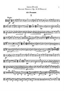Book I: parte trombones by Antonín Dvořák