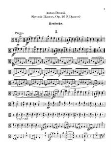 Book I: parte viola by Antonín Dvořák