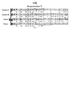 Judas mercator pessimus: Judas mercator pessimus by Tomás Luis de Victoria