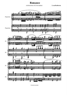 Romance: romantico by Ludwig van Beethoven