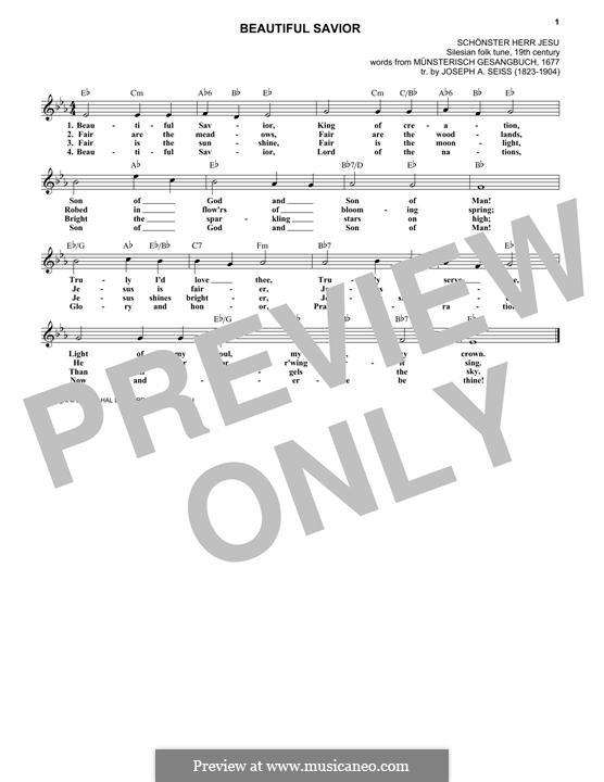 Beautiful Savior: melodia by folklore