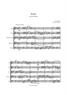 Rondo: Rondo by Wolfgang Amadeus Mozart