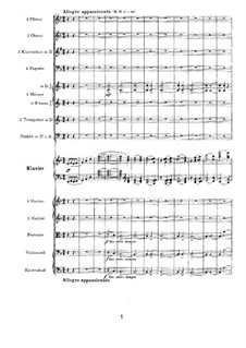 Concerto for Piano and Orchestra No.2 in B Flat Major, Op.83: movimento II by Johannes Brahms