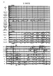 Symphony No.1 in C Minor, WAB 101: movimento II by Anton Bruckner
