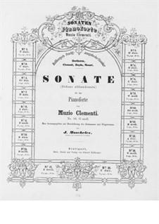 Three Sonatas, Op.50: Soneto No.3 by Muzio Clementi
