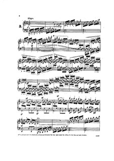 Tausig Edition: Etudes No.3-5 by Muzio Clementi