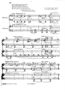 En blanc et noir (In Black and White), L.134: movimento II by Claude Debussy
