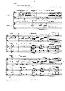 En blanc et noir (In Black and White), L.134: movimento III by Claude Debussy
