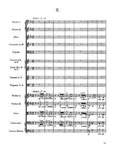 Movement II: partitura completa by Antonín Dvořák