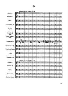 Movement IV: partitura completa by Antonín Dvořák