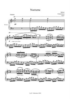 Nocturne, Op.41: Nokturne by Robert Ficklscherer