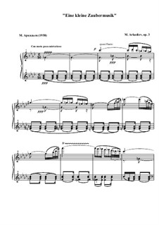 Eine kleine Zaubermusik, Op.3: Eine kleine Zaubermusik by Mikhail Arkadev