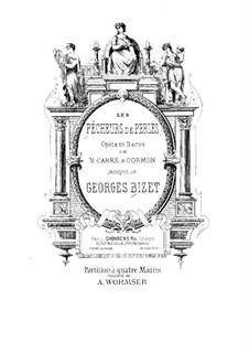 Complete Opera: para piano de quadro mãos by Georges Bizet