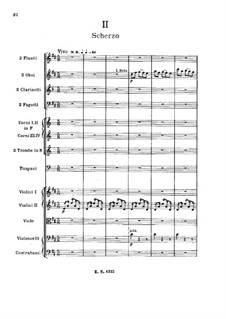 Symphony No.3 in A Minor (Unfinished): movimento II by Alexander Borodin