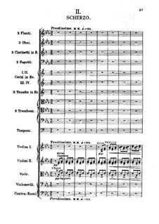 Symphony No.1 in E Flat Major: movimento II by Alexander Borodin