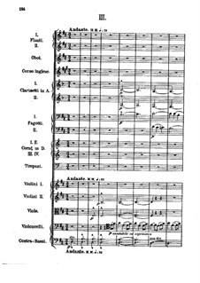 Symphony No.1 in E Flat Major: movimento III by Alexander Borodin