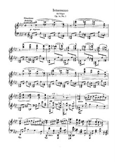 Eight Pieces, Op.76: No.3 Intermezzo in A Flat Major by Johannes Brahms