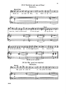 Samson, HWV 57: Thy glorious deeds. Recitative and Aria for bass by Georg Friedrich Händel