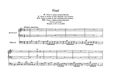 Six Pieces for Grand Organ: Final in B Flat Major, Op.21 by César Franck
