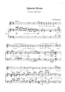 The Enchantress (or The Sorceress), TH 9: Arioso of Kuma by Pyotr Tchaikovsky