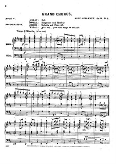 Pièces dans different styles for Organ: Book 4, Op.18 by Alexandre Guilmant