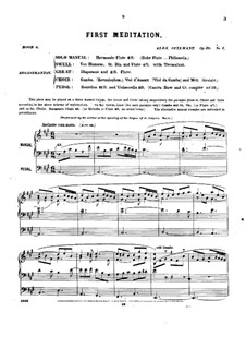 Pièces dans different styles for Organ: Book 6, Op.20 by Alexandre Guilmant