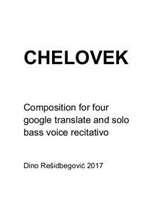 Chelovek: Chelovek by Dino Residbegovic
