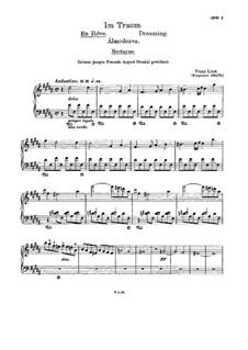 En rêve (Dreaming), S.207: Para Piano by Franz Liszt