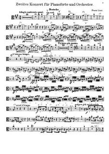 Piano Concerto No.2, S.125: parte viola by Franz Liszt