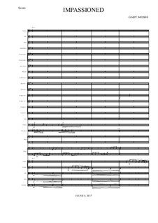 Impassioned – Full Orchestra: Impassioned – Full Orchestra by Gary Mosse