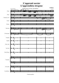 L'apprenti sorcier (The Sorcerer's Apprentice): para grande conjunto by Paul Dukas