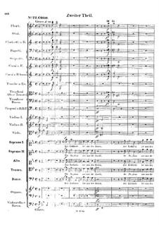 St. Paul, Op.36: movimento II by Felix Mendelssohn-Bartholdy