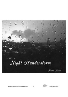 Night Thunderstorm, Op.31: Night Thunderstorm by Andfrullato