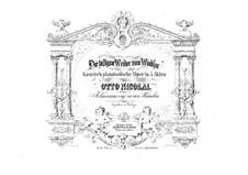 The Merry Wives of Windsor: arranjos para piano de quatro mãos by Otto Nicolai