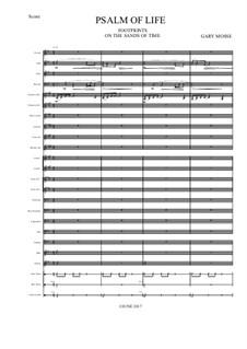 Psalm of Life – Wind Ens: Psalm of Life – Wind Ens by Gary Mosse