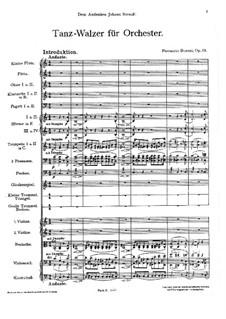 Tanzwalzer, BV 288 Op.53: Tanzwalzer by Ferruccio Busoni