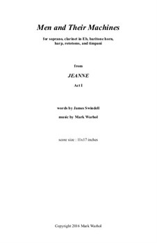 Jeanne: Men and Their Machines - score by Mark Warhol