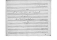 String Quintet in B Flat Major, Op.99: violino parte I by Giuseppe Mascia