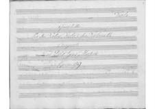 String Quintet in B Flat Major, Op.99: parte viola by Giuseppe Mascia